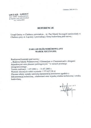 Chomranice Szkoła Podstawowa I Gimnazjum