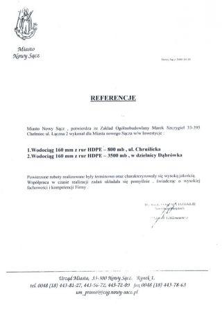 Nowy Sącz ul. Chruślicka